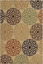 orian four seasons catalina bisque outdoor rug