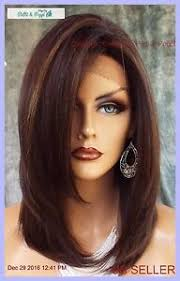 Fs4 27 Color Chart Details About Lace Front Wig Hand Tied Heat Friendly Fs4 27 Soft Straight Layers Usa 1133