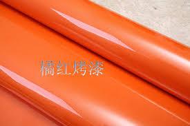 adhesive paper for furniture. Wholesale Pvc Waterproof Wallpaper Ktv Self Adhesive Sticker Kitchen Furniture Orange Paper For Wild Screen P