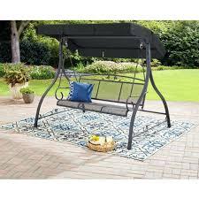 outdoor swing seat garden swing seat 3 person outdoor patio canopy chair hammock metal bench outdoor outdoor swing seat