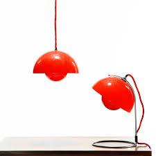 panton flowerpot table lamp