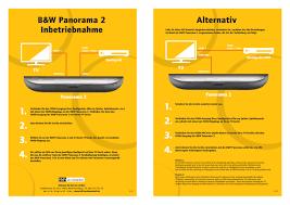Bowers & Wilkins Panorama 2 - Hinweise zur Installation - HiFi & Friends