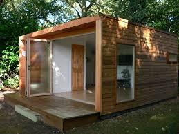 modular garden office. cedar cladding and bifold doors just like the enterprise pod iu0027 claddinggarden officegarden studiomodular modular garden office