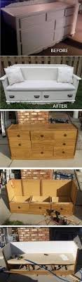furniture refurbished. turn an old dresser into a new bench u2013 diy someday i want workspace recycled furniturerefurbished furniturefurniture makeoverfurniture furniture refurbished