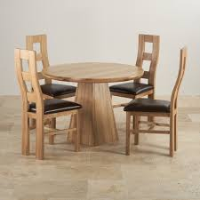 round oak extending table and chairs designs