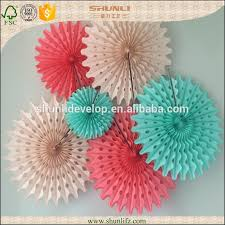 nurseries decoration diy tissue paper fan decorations