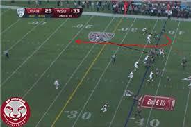 play diagram wide receiver screen game cougcenter Football X And O Diagrams say hi to randy football x o diagrams