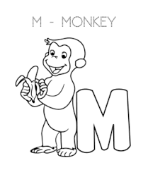 Each letter and number corresponding to accompany the picture. Alphabet Coloring Pages Letter M Through Z Playing Learning