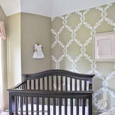 Small Picture Damask Wall Stencils Large Wall Stencils for DIY Designer