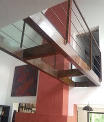 Steel Walkway Design Beam Walkway Steel Glass Fixed Passerelle Verre