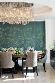 diy chandelier ideas dining room traditional with hand painted wallpaper hand painted wall mural hand painted