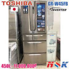 Tủ lạnh Toshiba Inverter GR-W45FB 450 lít | Điện Lạnh Nguyễn Khánh