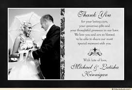 classic photo wedding thank you cards elegant image What To Put In Wedding Thank You Cards charcoal gray thank you card what to write in wedding thank you cards