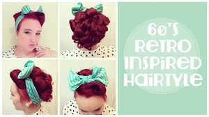 60s Hair Style vintage hairstyle 60s inspired updo and front barrel roll youtube 3077 by wearticles.com