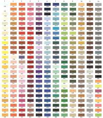 Color Chart For Clothes A Change Of Seamery Color Chart