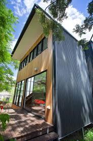 Black Cedar Box Two Story Small House By Baahouse + Baastudio