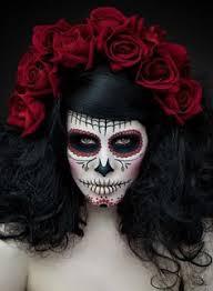 day of the dead shoot model mua ryo love model makeup artist