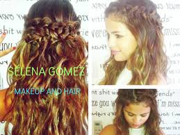 Selena Gomez Hair Style selena gomez inspired hair and makeup tutorialbraided hair no 8787 by wearticles.com