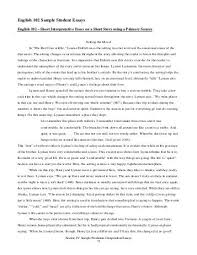 last meow sample student essays english 102 sample student essays