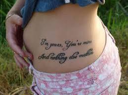 Tatuaggi Con Frasi Foto Stylosophy