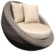 outdoor lounge chairs. Woven Fiber Round Chair Outdoor Lounge Chairs