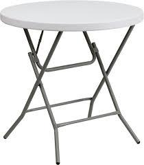 folding table 32 round plastic 32