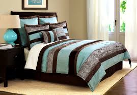 Apartments Stunning Teal And Brown Bedroom Ideas Awesome Brown And