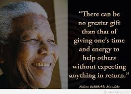 nelson mandela gift quote wallpaper