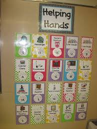 Pre K Job Chart Pictures Class Room Charts Online Charts Collection