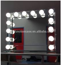 australia por hollywood makeup mirror with led lights mirror finish luxury fancy dressing room mirror with