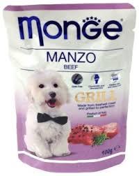 <b>Monge dog grill</b> pouch <b>паучи</b> для собак говядина