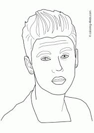 Celebrities Coloring Pages For Kids Free Printable Coloring Books