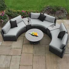 rattan garden furniture garden sofa