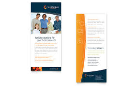 Double Sided Brochure Template Publisher How To Make A Double Sided