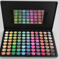promotion brand new 88 color eye shadow palette cosmetic black makeup kit ultra matte