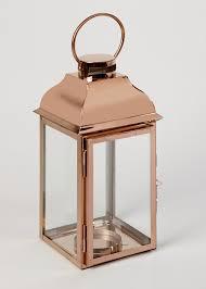 Copper Lantern (16cm x 16cm x 35cm)