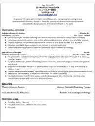 Respiratory Therapist Student Resume Respiratory Therapist Student Resume Examples Respiratory Therapist