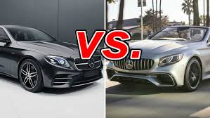 Get updated car prices, read reviews, ask questions, compare cars, find car specs, view the feature list and browse photos. Mercedes Benz E Class Vs Mercedes Benz S Class Carsdirect