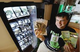 Marijuana Vending Machines Interesting Vancouver Pot Seller Has High Hopes For Vending Machines