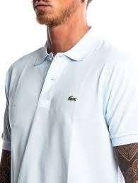 Light Green Lacoste Polo Mens Polo Shirt In Light Blue Nohow Style