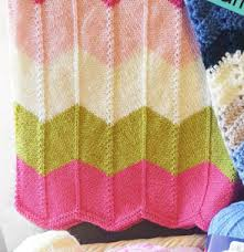 Blanket Patterns Simple Lace And Chevron Baby Blanket Patterns Knitting Free