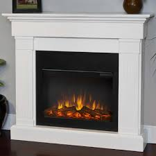 real flame 8020e w slim crawford wall mount electric fireplace finish white