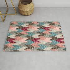 kilim weaving structure burdy light blue rug