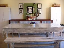 White Dining Table Shabby Chic Country Oak Rectangle Grey Wooden