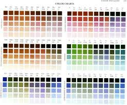 Richards Paint Color Chart