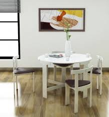 round space saving dining table and chairs prepossessing space saving kitchen table sets dining space saving
