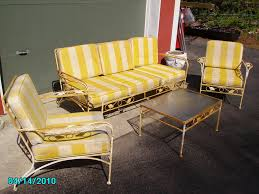 wrought iron patio furniture cushions. With Antique Patio Furniture View Original Decoration Vintage Wrought Iron Cushions