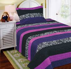 Purple And Zebra Bedroom Black And Purple Comforter Bedding Ease Bedding With Style