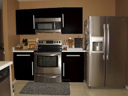 Beautiful Dark Kitchen Cabinets Colors Paint With And Decorating