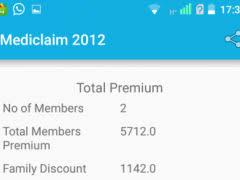 New India Mediclaim Policy 2018 Premium Chart New India Assurance Calculator 1 1 Free Download